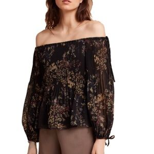 "Wilfred ""Talence"" Floral Off the Shoulder Top"